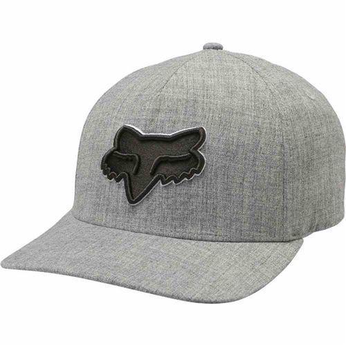 Fox Czapka z daszkiem - epicycle flexfit hat heather grey (040) rozmiar: s/m