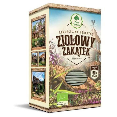 Dary natury - herbatki bio Herbatka ziołowy zakątek bio (25 x 2 g) - dary natury (5903246861143)