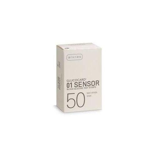 Bioton s.a. polska Glucocard 01 sensor 50 - paski testowe