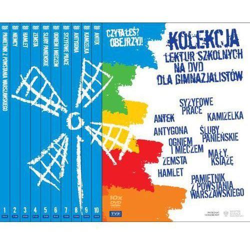 Telewizja polska Kolekcja lektur szkolnych na dvd dla gimnazjalistów box (5902600068761)