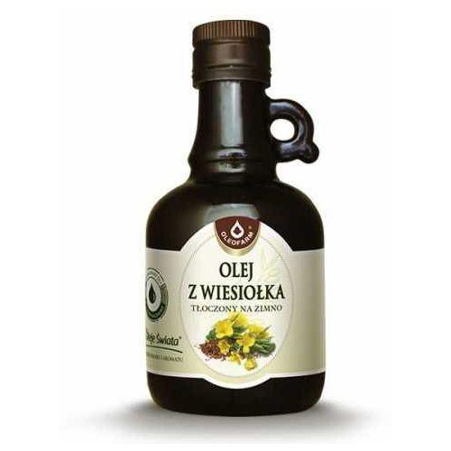 Olej z wiesiołka tłoczony na zimno oleje świata 250ml oleofarm marki Oleofarm ul. mokronoska 8, 52-407 wrocław, polska, dystrybutor: oleofa