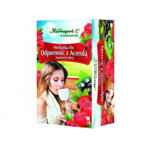 Herbata odporność z acerolą 20szt. - Herbapol