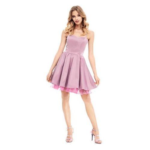 Sukienka Lyla w kolorze fioletowym