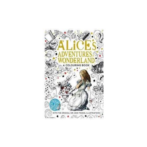 Alice's Adventures in Wonderland colouring book