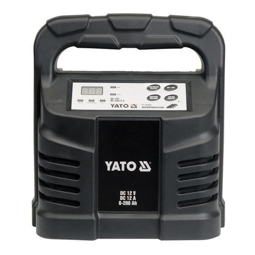 Yato Prostownik elektroniczny 12 v 12 a 6-200 ah