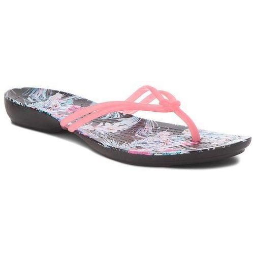 Japonki CROCS - Isabella Graphic Flip W 204196 Paradise Pink/Tropical Floral