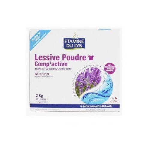 Etamine du Lys Proszek do prania tkanin białych i o trwałych kolorach organiczna lawenda 2 kg (proszek do prania ubrań)