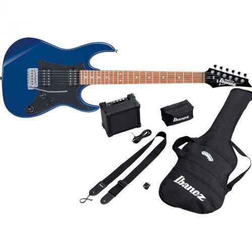 ijrx20-bl jumpstart starter set blue gitara elektryczna + wzmacniacz + pokrowiec + kostki + tuner + pasek marki Ibanez