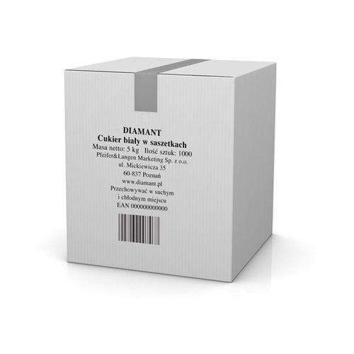 cukier biały w saszetkach 1000 x 5 g marki Diamant