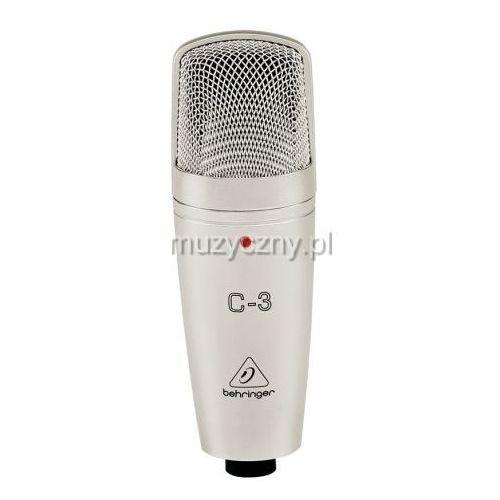 Behringer c3 mikrofon pojemnościowy