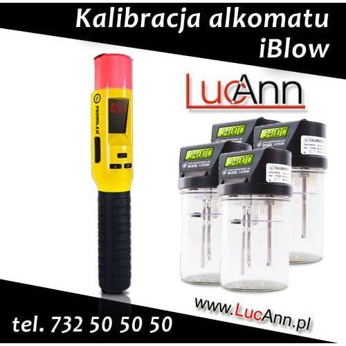 Kalibracja alkomatu iBlow + Świadectwo kalibracji, Kalibracja iBlow
