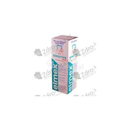 Elmex, plyn,Sensitive,do plukania ust,400 ml (lek Pozostałeleki i suplementy)