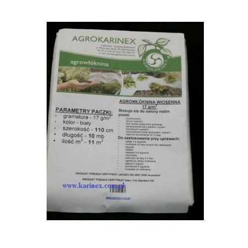 Agrowłóknina wiosenna PP 17 g/m2 biała 1,1 x 10 mb. Paczka o wadze 0,2 kg - oferta [25b7dea64fb3726d]