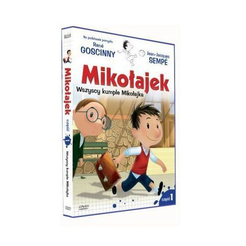 Mikołajek: Wszyscy kumple Mikołajka - część 1 - Best Film CO DARMOWA DOSTAWA KIOSK RUCHU, 57792102793DV (198887)