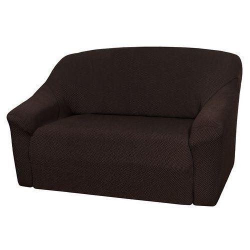 4home pokrowiec multielastyczny na sofę, brązowy elegant, 140 - 180 cm, 140 - 180 cm
