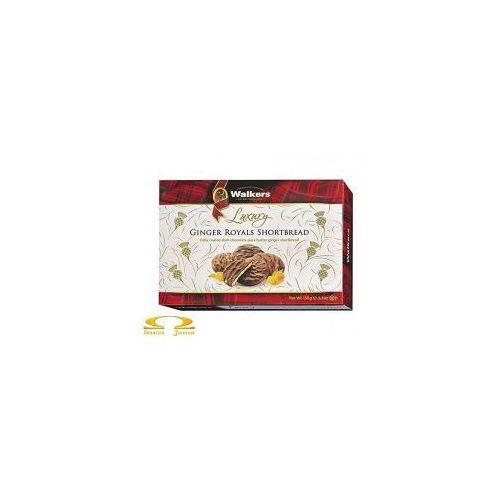 Ciasteczka maślane ginger royals shortbread 150g marki Walkers