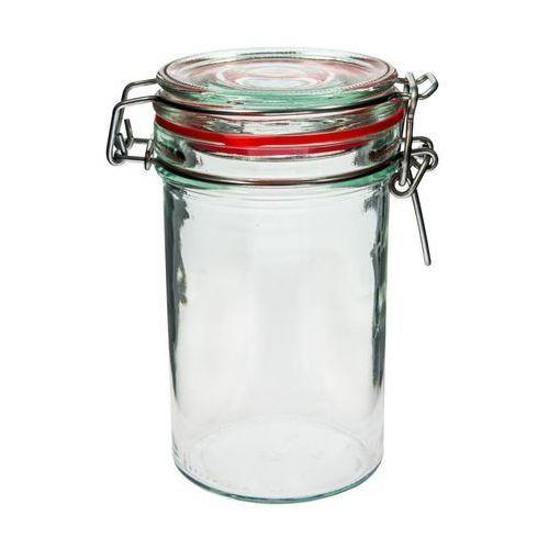 Słój szklany 0,5 l z zamknięciem mechanicznym slim marki Browin