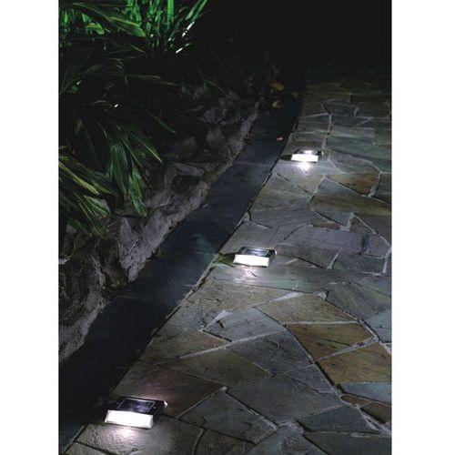 OBRYSOWA LAMPA SOLARNA LED ZE STALI NIERDZEWNEJ (lampa zewnętrzna ogrodowa) od Makstor