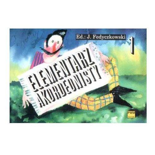 Pwm fedyczkowski józef - elementarz akordeonisty z. 1