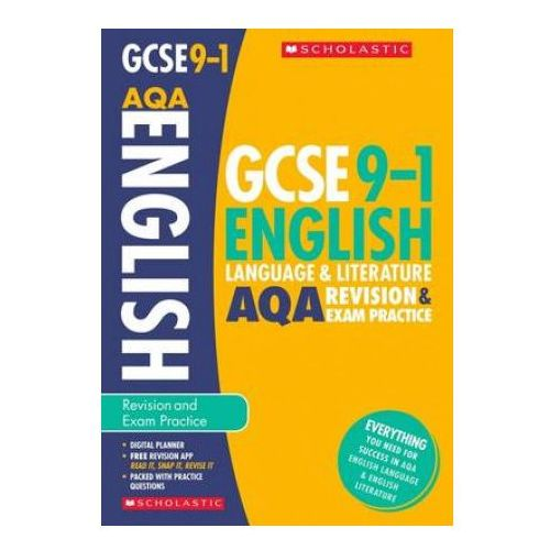 English Language and Literature Revision and Exam Practice Book for AQA (9781407169163)