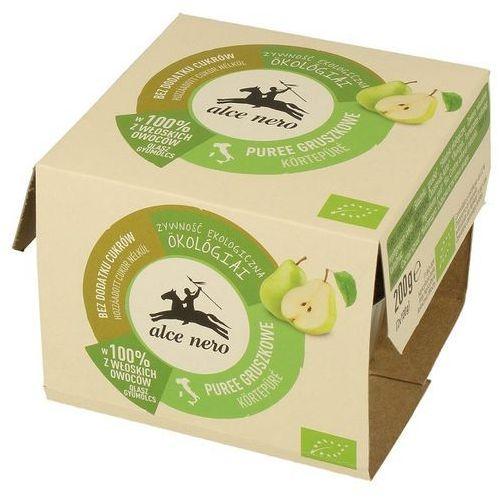 Przecier gruszkowy bio (2 x 100 g) - alce nero marki Alce nero (włoskie produkty)