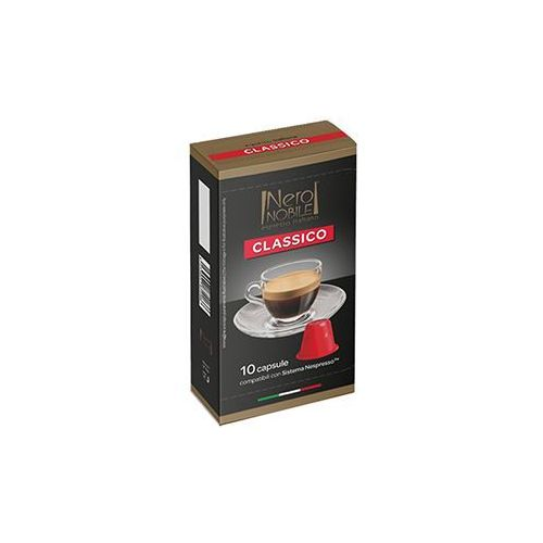 Nero nobile Kapsułki do nespresso* klasyczna/classico 10 kapsułek - do 12% rabatu przy większych zakupach oraz darmowa dostawa (8033993874466)