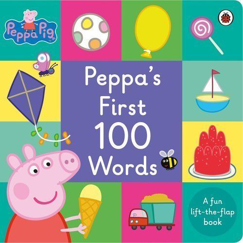 Peppa Pig: Peppa's First 100 Words, Ladybird