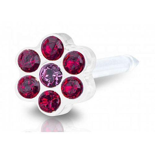 Blomdahl daisy ruby / rose 5 mm