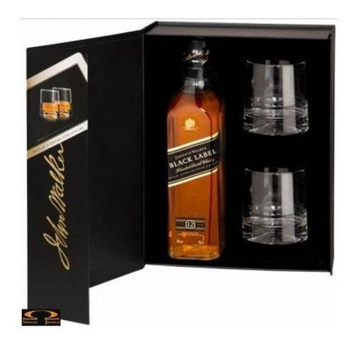 Whisky Johnnie Walker Black Label 0,7 l. + 2 szklanki - sprawdź w wybranym sklepie