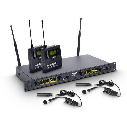 Ld systems win 42 bpw 2 mikrofon bezprzewodowy do instrumentów dętych, podwójny