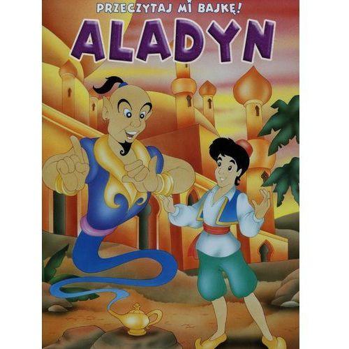 Przeczytaj mi bajkę Aladyn - Wydawnictwo Olesiejuk, Claudio Cernuschi ilustr
