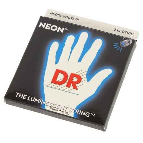 DR NWE-9 White Neon struny do gitary elektrycznej 9-42