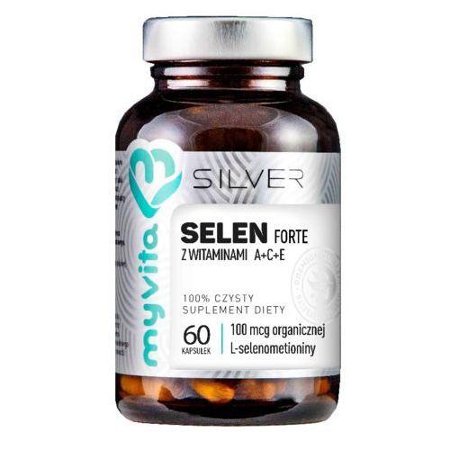 Selen Forte z witaminami A+C+E 60 kapsułek MyVita Silver Pure (5903021590640)