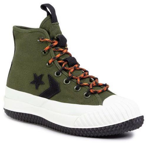 Sneakersy CONVERSE - Bosey Mc Hi 166222C Surplus Olive/Campfire Orange, w 8 rozmiarach