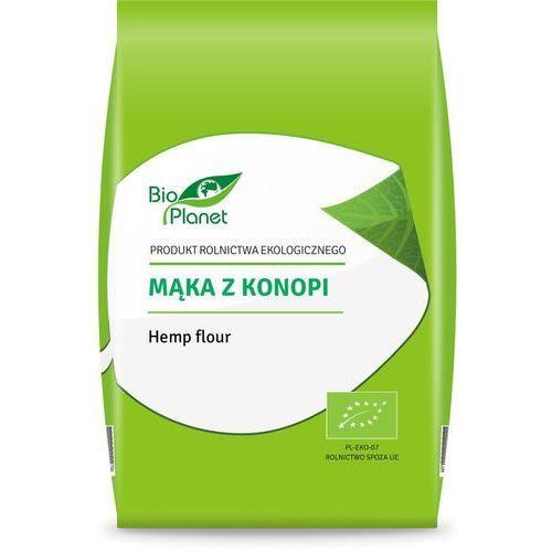 Mąka z konopii bio 400g. marki Bio planet