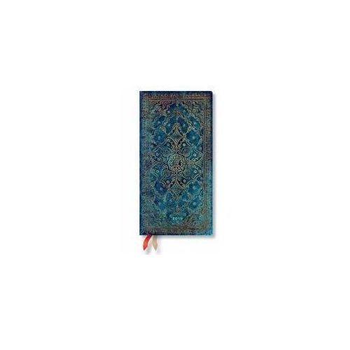 Kalendarz książkowy slim 2019 12M Azure (9781439749012)