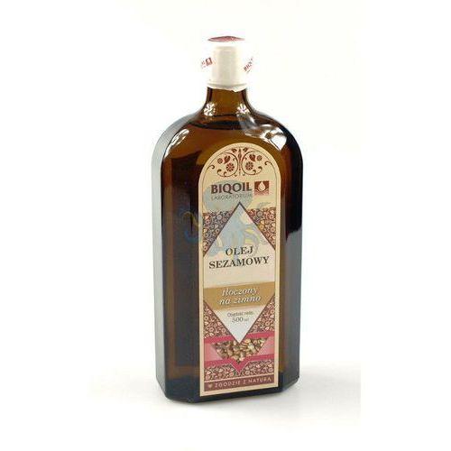 Olej sezamowy 500ml - 500ml z kategorii oleje, oliwy i octy