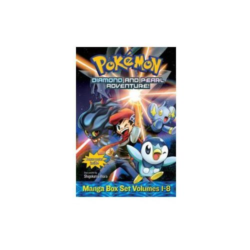 Pokemon Diamond and Pearl Adventure! Box Set (9781421542416)
