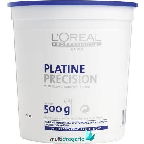LOREAL Dekoloryzacja Platine Precision Puder Dekoloryzujący Niskopylący 500g