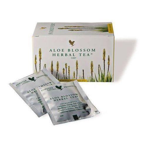 Herbatka ziołowa z kwiatem aloesu