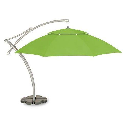 Parasol ogrodowy Ibiza 420 cm jasnozielony