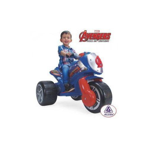 Injusa Motor trójkołowy avengers 6v