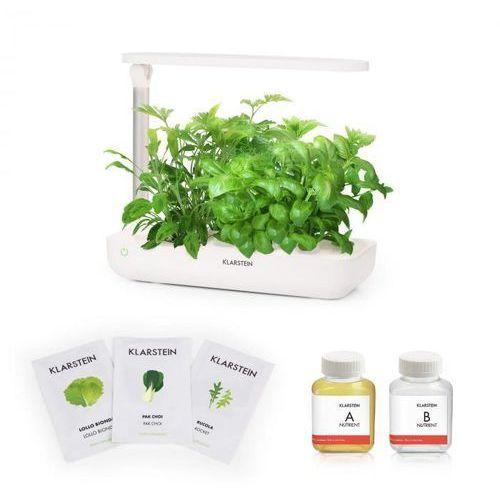 Klarstein growlt flex starter kit i 9 roślin 18 w 2 l zestaw nasion sałaty pożywka (4060656149047)