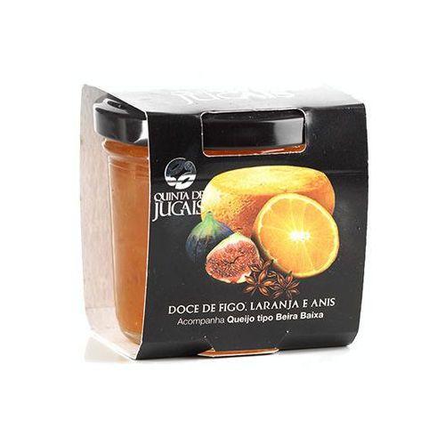 Portugalska konfitura do serów z fig i pomarańczy 125g marki Quinta de jugais