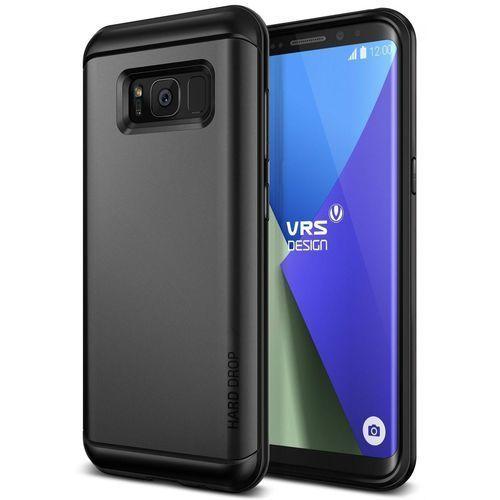 Etui VRS Design Hard Drop Samsung Galaxy S8 Dark Silver (8809477685909)