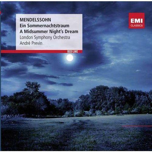Red line - a midsummer night's dream - andre previn (płyta cd) marki Warner music