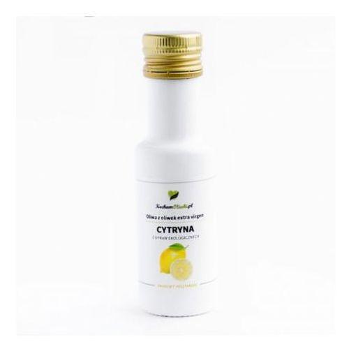 Oliwa z oliwek z cytryną BIO 100ml, OLIWA010