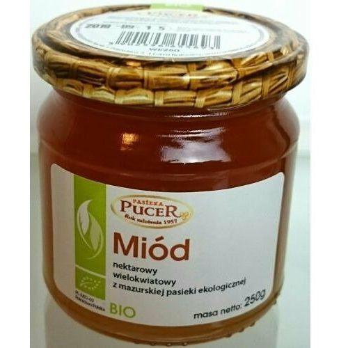 Miód wielokwiatowy nektarowy 250g pasieka ekologiczny marki Pucer