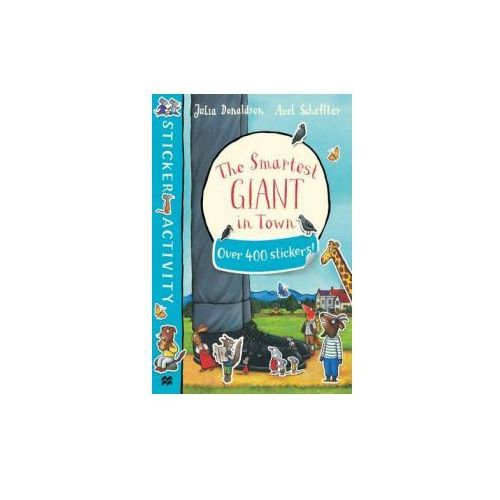 Smartest Giant in Town Sticker Book