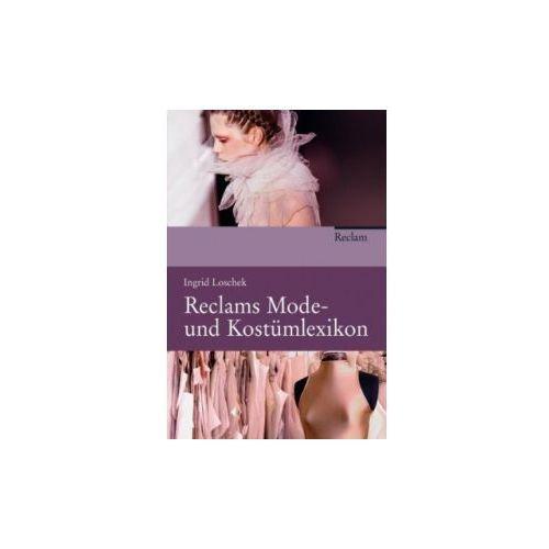 Reclams Mode- und Kostümlexikon (9783150108185)